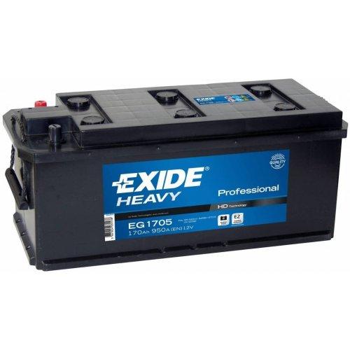 Akumuliatorius EXIDE 12V / 170Ah